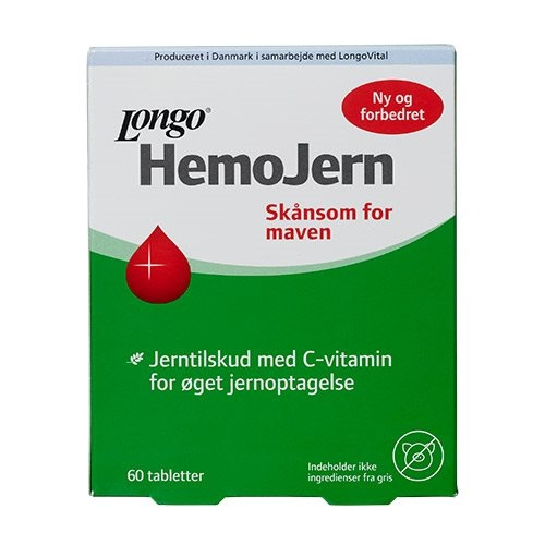 Hemojern - 60 tabletter