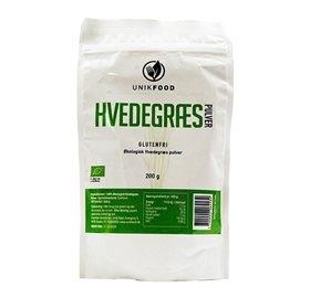 Hvedegræs pulver økologis fra Diet Food - 200 gram