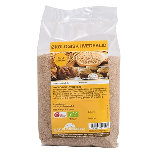 Hvedeklid Økologisk fra Natur Drogeriet - 250 gram