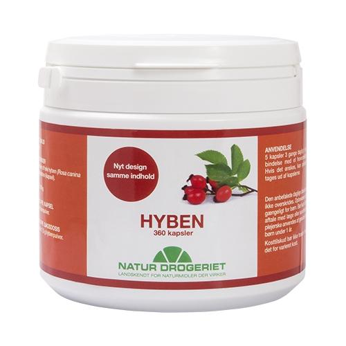 Hybenkapsler 485 mg - 360 kapsler