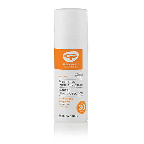 GreenPeople Solcreme uden duft faktor 25 - 50 ml