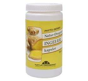 Ingefær kapsler 400 mg - 90 stk.