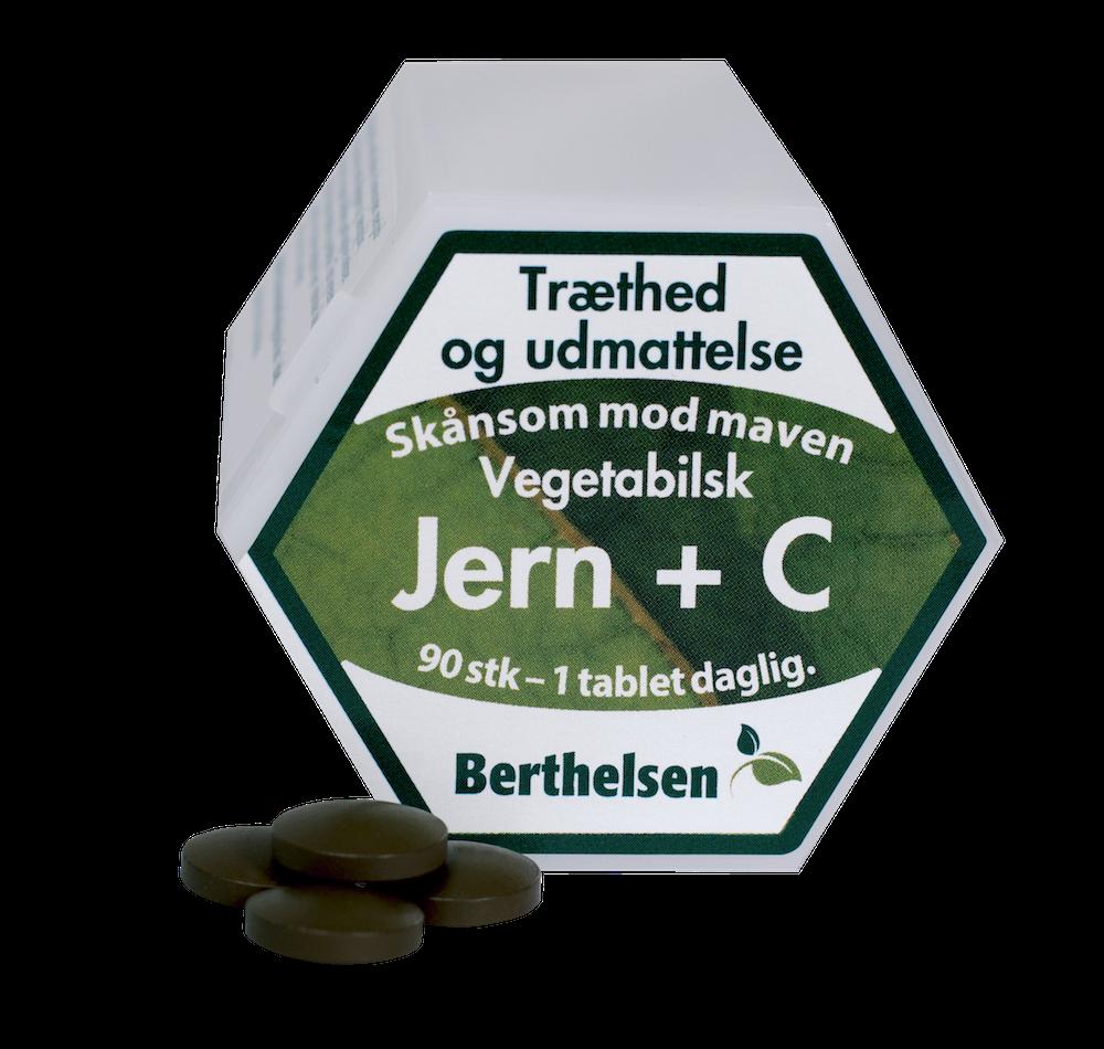 Jern + C - 90 tabletter