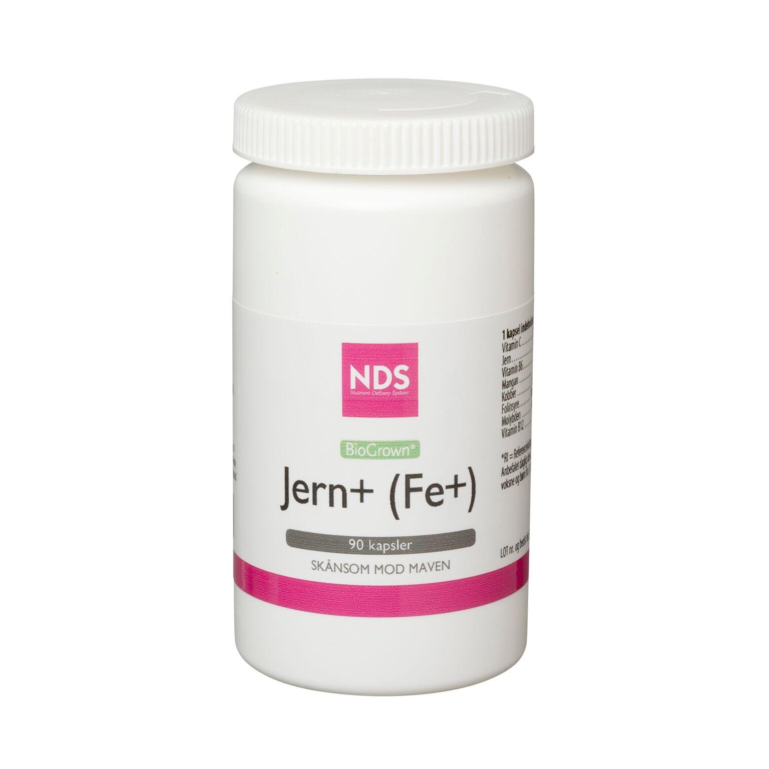 NDS Fe + Jern - 90 tabletter