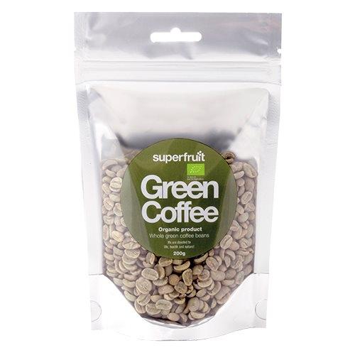 Kaffebønner grønne Økologiske - 200 gram