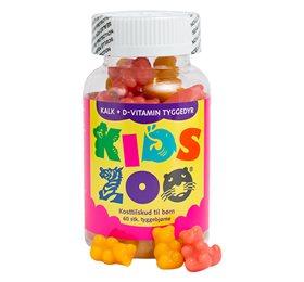Image of Kids Zoo Kalk + D gelé kanin - 60 stk.