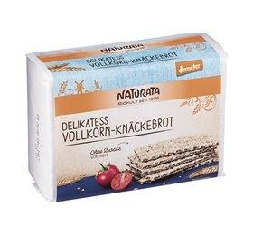 Image of Knækbrød fuldkorn demeter Naturata Ø - 250 gr