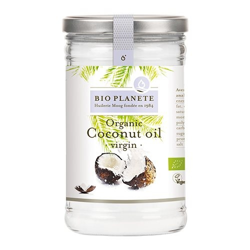 Kokosolie koldpresset jomfru fra Biogan Ø 1 liter