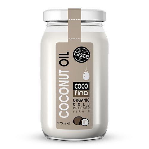 Kokosolie koldpresset jomfru Cocofina Øko - 975 ml