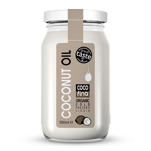 Kokosolie koldpresset jomfru Cocofina Øko - 350 ml