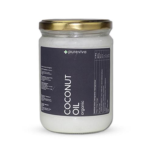 Image of   Pureviva Kokosolie koldpresset Ø (500 ml)