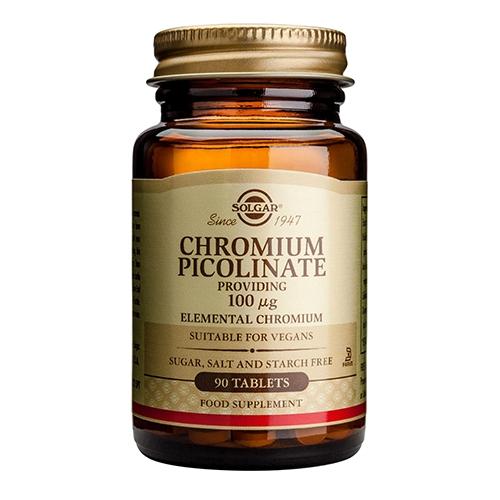 Image of Chrom Picolinat (Chromium) 100mg - 90 tabletter
