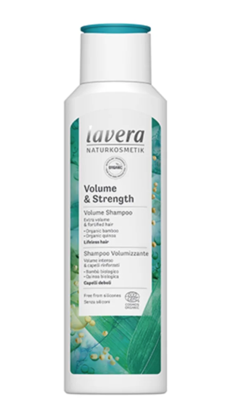 Lavera Volume & Strength Shampoo - 250 ml.
