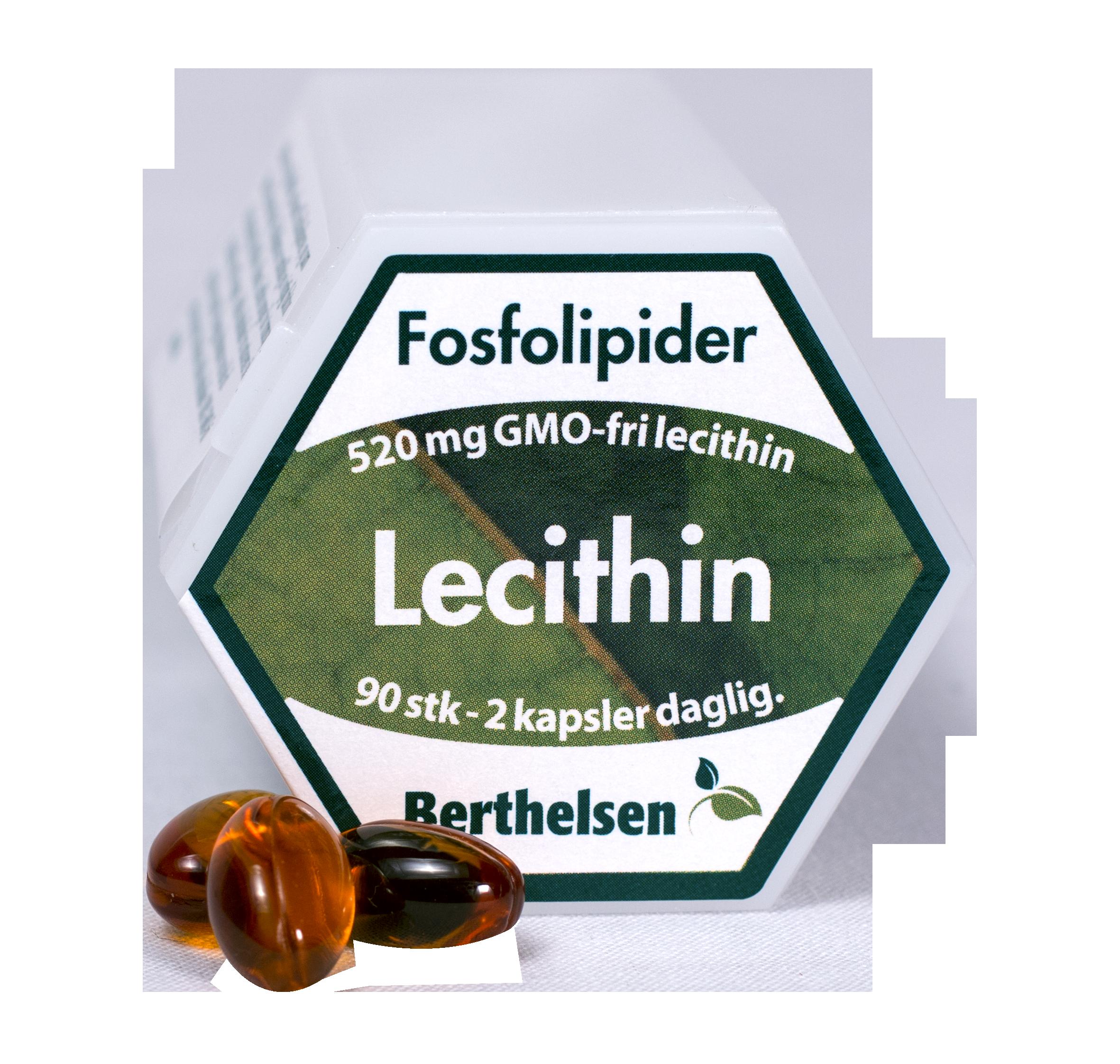 Lecithin - 90 kapsler