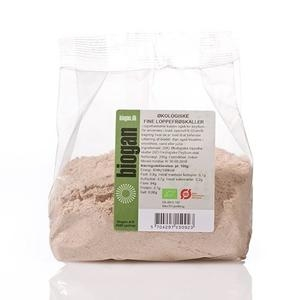 Loppefrøskaller psyllium pulver øko Biogan - 200 g