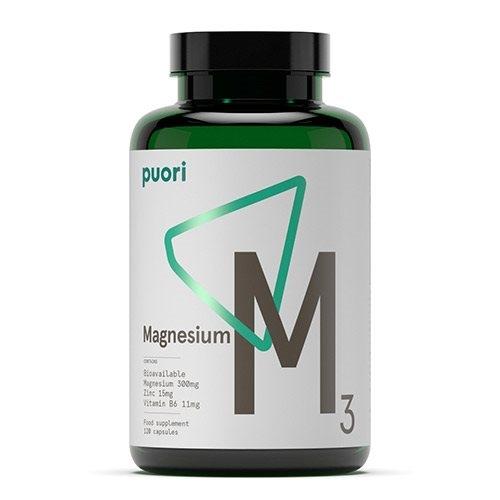 Magnesium M3 fra PurePharma - 120 kapsler