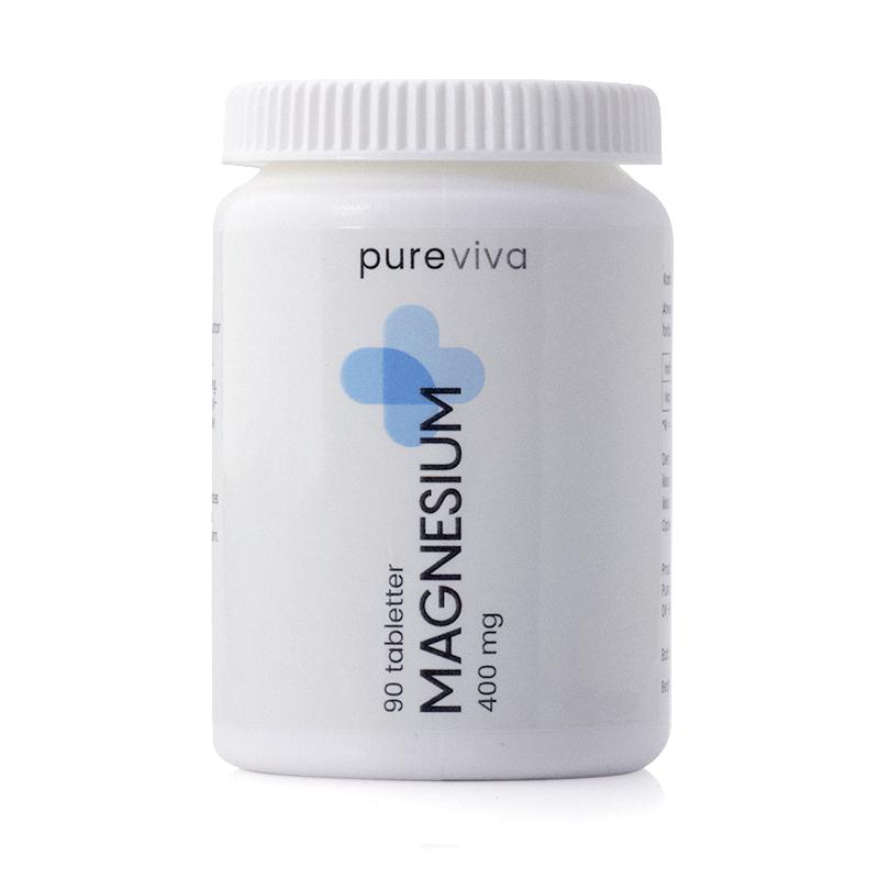 Image of   Pureviva Magnesium 400 mg (90 tab)