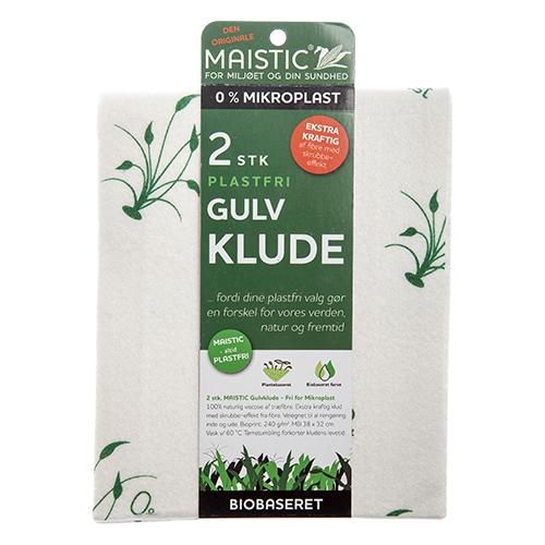 Image of   Maistic Gulvklude u. Microfiberplast (2 stk)