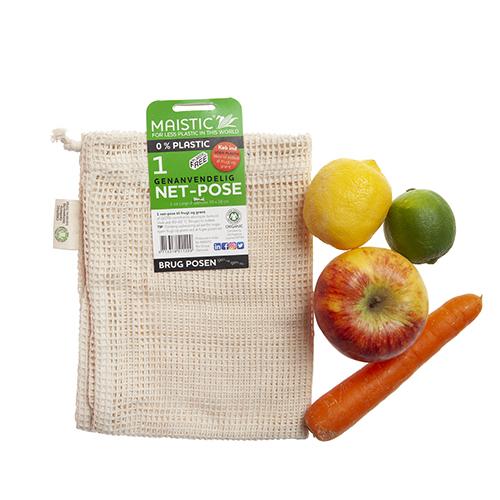 Image of   Maistic Netpose til grønt Str. L (1 stk)