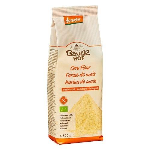 Majsmel glutenfrit fra Bauckhof Øko - 500 gram