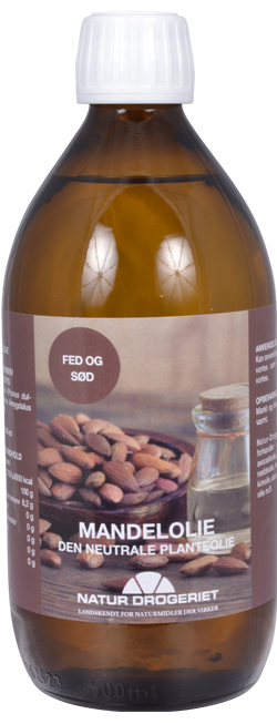 Image of   Mandelolie fed sød - 500 ml.