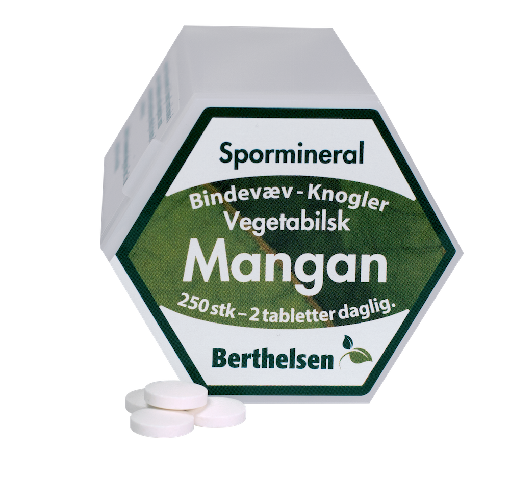 Mangan 3,75 mg - 250 tabletter