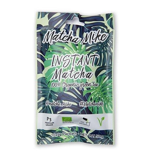 Image of Matcha grøn te instant P3 Premium Grade Ø - 10x5gr