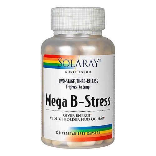 Image of   Mega B Stress - 120 kapsler