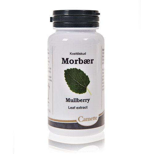 Morbær blad ekstrakt - 90 Tabletter