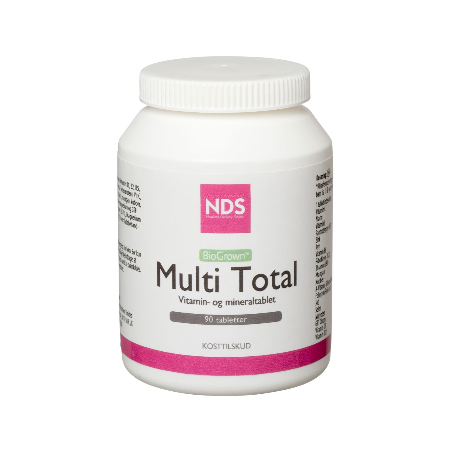 NDS Multi Total - 90 tabletter