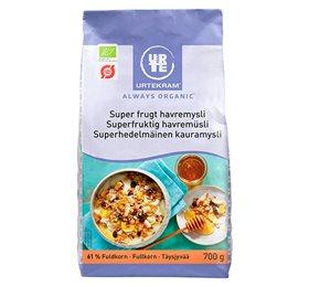 Image of   Mysli havre & frugt Urtekram Øko - 700 gram