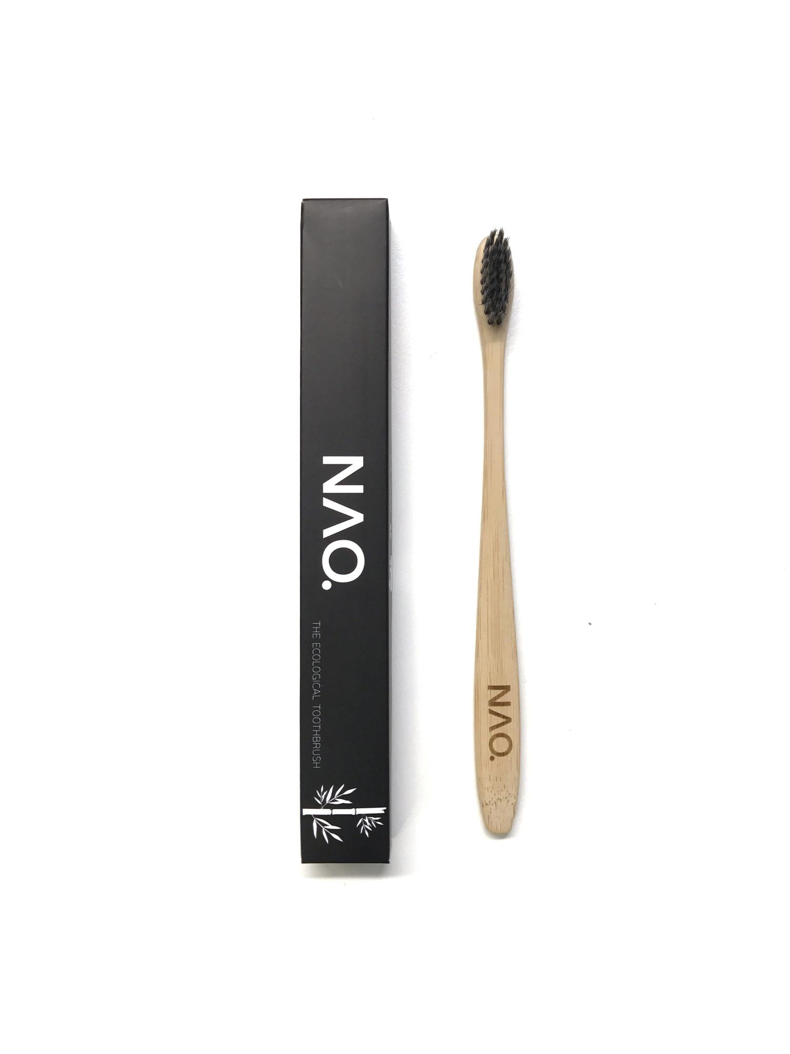 NAO Bambus Tandbørste (1 stk)