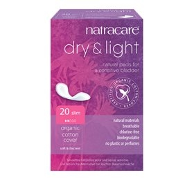 Natracare Dry & Light til inkontinens - 20 stk.