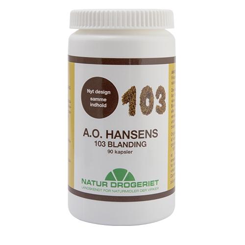 Image of   A. O. Hansen - 90 kapsler