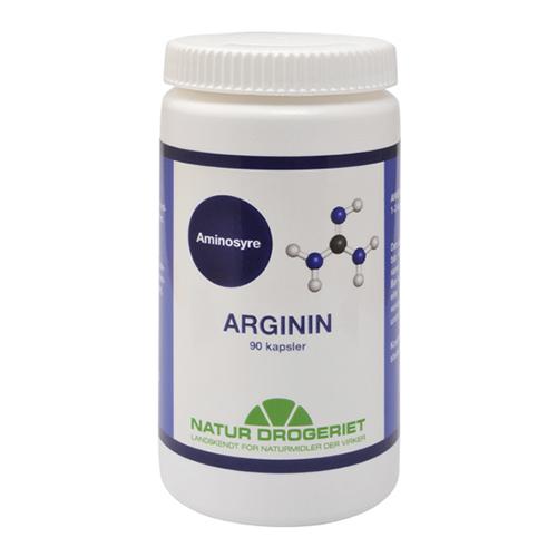Image of   Arginin fra Naturdrogeriet - 90 kapsler