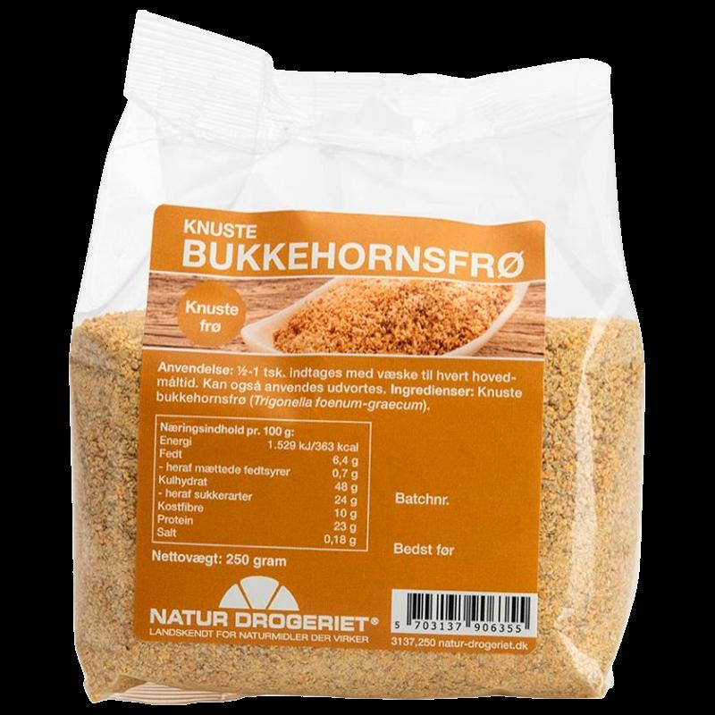 Natur-Drogeriet Bukkehornsfrø Knust