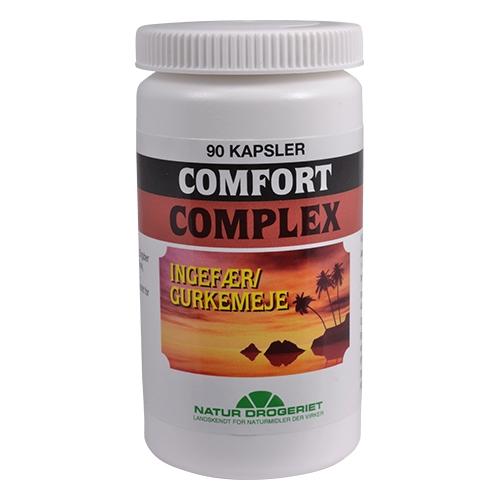 Comfort complex med ingefær og gurkemeje - 90 kaps
