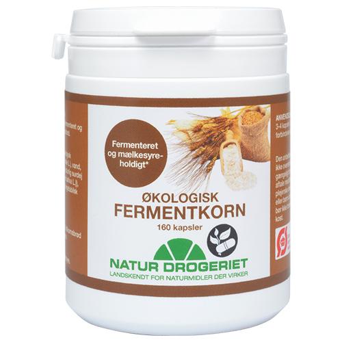 Image of   Fermentkorn 450 mg - 160 kapsler