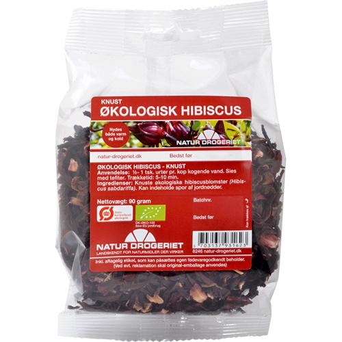 Image of   Hibiscus knust Natur Drogeriet Øko - 90 gram