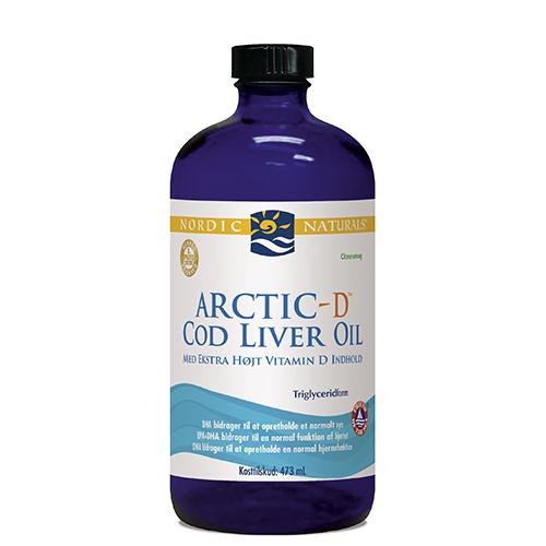 Torskelevertran Citrus + D Cod Liver Oil - 474 ml