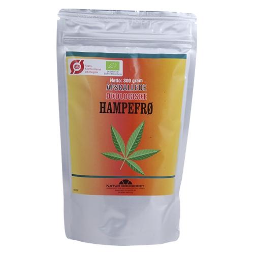 Hampefrø afskallede Økologiske - 300 gram