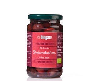 Image of   Oliven kalamata uden sten Øko - 340 gram