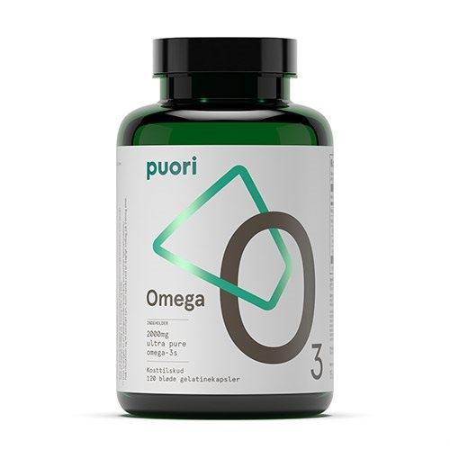Omega-3 O3 fra PurePharma - 120 kapsler