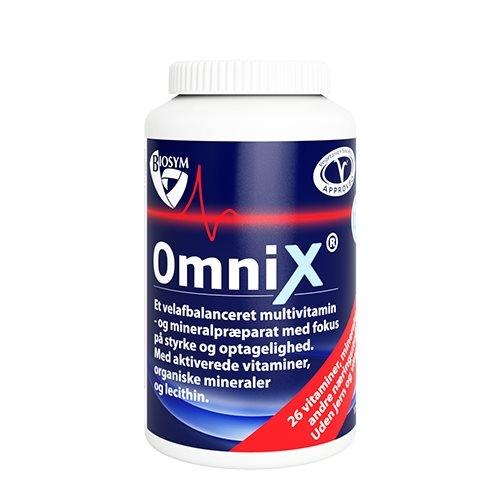 Image of Biosym OmniX uden jern og k-vitamin (175 tabletter)