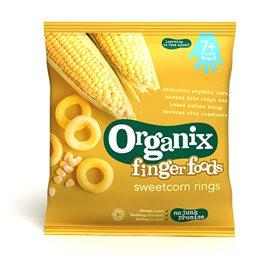Image of Organix majsringe fra 7 mdr. Øko - 20 gram