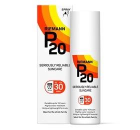 Image of   Riemann P20 Solbeskyttelse SPF 30 spray - 100 ml.