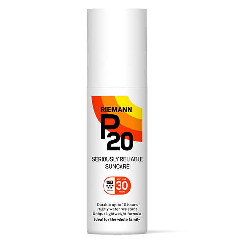 Image of   Riemann P20 Solbeskyttelse SPF 30 spray - 100 ml.