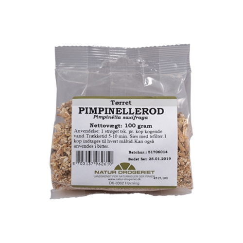 Image of   Pimpinellerod fra Natur Drogeriet - 100 gram