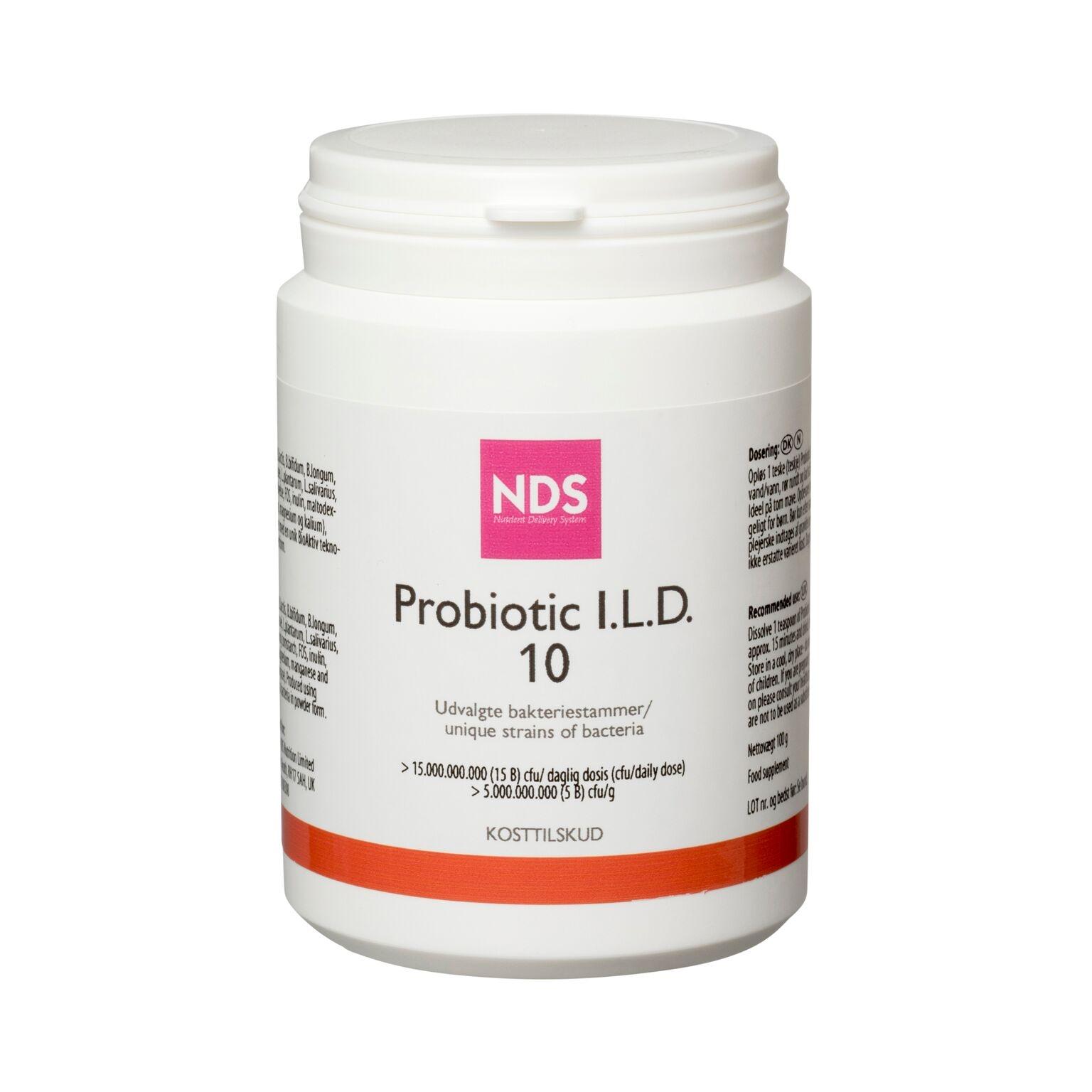 Image of I.L.D. 10 Probiotic NDS - 100 gram