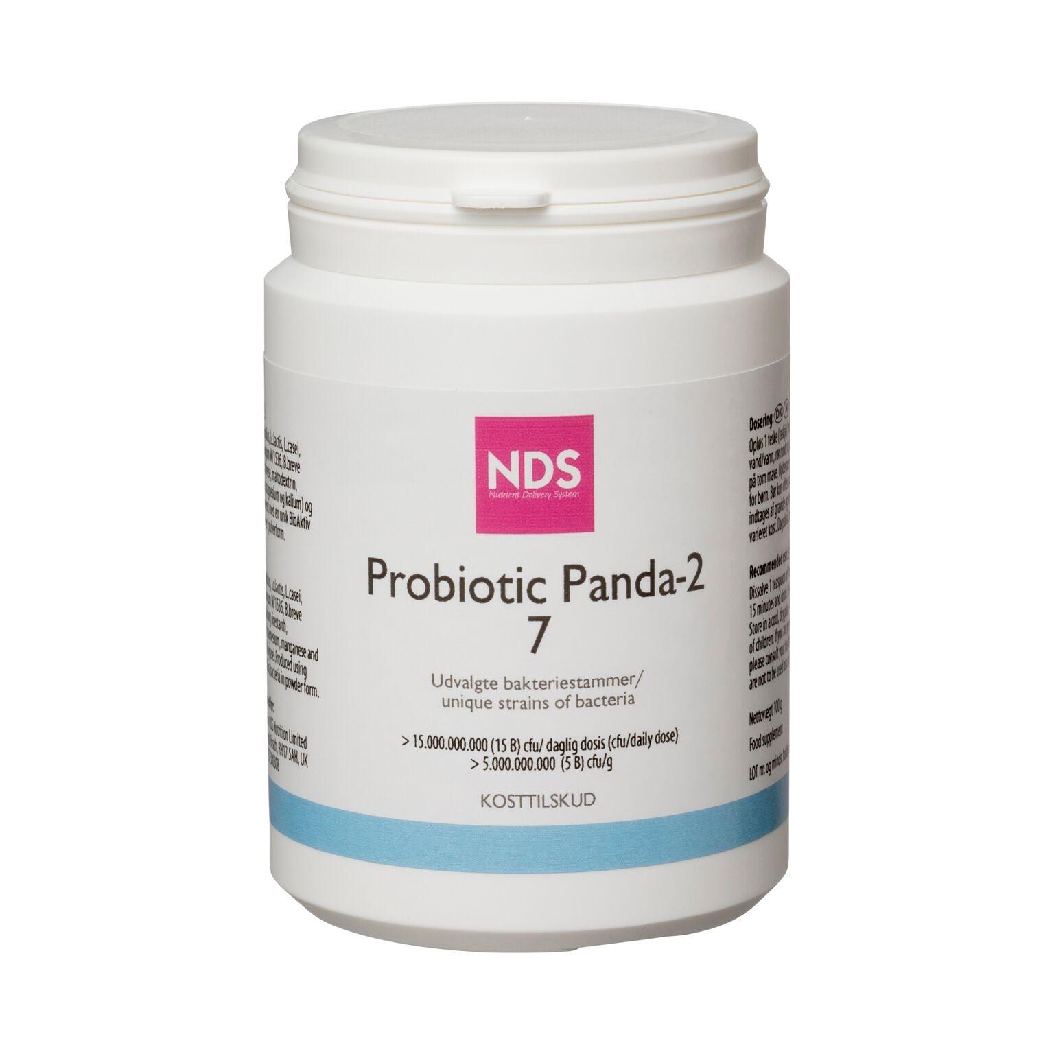 Image of   NDS Probiotic Panda 7 - 100 gram